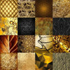 Tiles Decor Gold Poster Print by GraphINC - Item # VARPDXIN31795