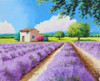 House with Blue Shutters in Provence Poster Print by Jean-Marc Janiaczyk - Item # VARMGL601670