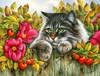 Rose Hedge Poster Print by Irina Garmaschova-Cawton - Item # VARMGL601363