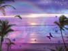 Purple Ocean Dream Poster Print by Alixandra Mullins - Item # VARMGL601849