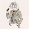 Tiger-man Poster Print by GraphINC - Item # VARPDXIN32136