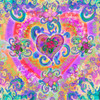 Swirly Heart Poster Print by Alixandra Mullins - Item # VARMGL600974