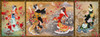 Oriental triptych Poster Print by Haruyo Morita - Item # VARMGL601009