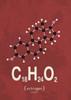 Molecule Estrogene Poster Print by TypeLike - Item # VARPDXIN3189319