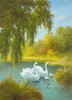 White Symphony I Poster Print by B. Smith - Item # VARPDX85167