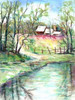 George Washington Carver Pond Poster Print by Todd Williams - Item # VARPDXTWM359