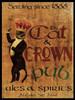 Cat and Crown Pub Poster Print by Jason Giacopelli - Item # VARPDXGPL113