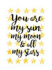You Are My Sun Poster Print by Joan Coleman - Item # VARPDX448COL1071