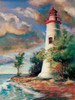 Shoreline Lighthouse Poster Print by Todd Williams - Item # VARPDXTWM360