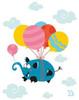 Ballooony Ellie Poster Print by Blue Fish - Item # VARPDXFSH130