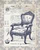 Indigo Chair II Poster Print by Gwendolyn Babbitt - Item # VARPDXBAB078