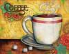 Spring Coffee Poster Print by Donna Knold - Item # VARPDXKLD015
