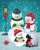 Frosty and Fab V Poster Print by Teresa Woo - Item # VARPDXWOO116