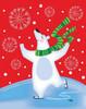 Polar Bear Arabesque Poster Print by Teresa Woo - Item # VARPDXWOO120