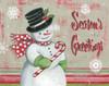 Christmas Snowman II Poster Print by Kimberly Poloson - Item # VARPDXPOL354