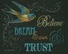 Believe and Bird Poster Print by Gwendolyn Babbitt - Item # VARPDXBAB036