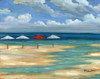 Umbrella Beachscape III Poster Print by Paul Brent - Item # VARPDXBNT776