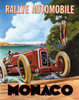 Monaco Rallye Poster Print by Catherine Jones - Item # VARPDXJNE113