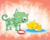 Kitty Koo Poster Print by Blue Fish - Item # VARPDXFSH128