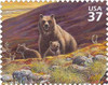 Grizzly Bear Poster Print by  US POSTAL SERVICE - Item # VARPDX3402
