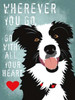 Go with All Your Heart Poster Print by Ginger Oliphant - Item # VARPDXO246D