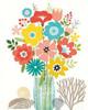 Seaside Bouquet IV Mason Jar Poster Print by Michael Mullan - Item # VARPDX23246