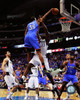 Kevin Durant dunks against Haywood during Game 2 of the 2011 Western Confernece Finals Photo Print - Item # VARPFSAANP220