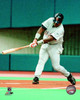 Tony Gwynn # 19 of the San Diego Padres gets his 3000th hit with a single in the first inning against the Montreal Expos at Olympic Stadium. August 6, 1999. Photo Print - Item # VARPFSAALE074