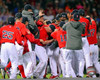 The Boston Red Sox Celebrate winning the 2013 American League East Division Photo Print - Item # VARPFSAAQF114