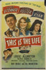 This Is the Life Movie Poster Print (27 x 40) - Item # MOVIB18804