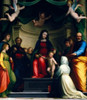 Mystic Marriage of Saint Catherine of Siena   with Eight Saints by Fra Bartolommeo   1511     France   Paris   Musee du Louvre Poster Print - Item # VARSAL11582240