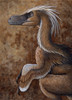 Velociraptor mongoliensis, a dromaeosaurid dinosaur of the Cretaceous Period. Acrylics and colored pencil. Poster Print - Item # VARPSTHKY100026P