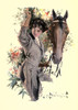 Songs of Sentiment 1910 Horse lady Poster Print by  Howard Chandler Christy - Item # VARPPHPDP80007