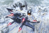 Star Wars X-Wing attacking TIE fighter over an artic station Poster Print - Item # VARPSTKRT200022S