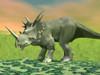 3D rendering of a Styracosaurus dinosaur Poster Print - Item # VARPSTEDV600087P