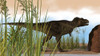 Tyrannosaurus Rex hunting for its next meal Poster Print - Item # VARPSTKVA600223P