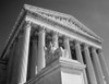 1980s Federal Supreme Court Building Low Angle Front Shot Washington Dc Usa Poster Print By Vintage Collection (22 X 28) - Item # PPI178905LARGE