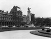 1930s Le Louvre Museum And Gardens Paris France Poster Print By Vintage Collection - Item # VARPPI178681