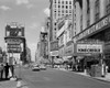 1950s Times Square View North Up 7Th Ave At 45Th St King Creole Starring Elvis Presley On Lowes State Theatre Marquee - Item # VARPPI178834