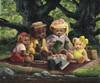 Picnic among the oaks Poster Print by John Bindon - Item # VARMGL13626