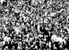 1970s Posterization Of Crowd In Stadium Bleachers Poster Print By Vintage Collection (24 X 36) - Item # PPI186222LARGE