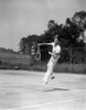 1930s Man Playing Tennis Jumping Mid Air Action Poster Print By Vintage Collection - Item # VARPPI179591