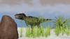 Tyrannosaurus Rex hunting for its next meal Poster Print - Item # VARPSTKVA600224P
