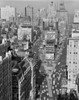 1950s Elevated View New York City Times Square Traffic Looking North To Duffy Square Nyc Ny Usa Print By Vintage - Item # PPI178786LARGE