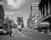 1950s Looking North Up Broadway From Times Square To Duffy Square King Creole On Movie Marquee Manhattan New York City - Item # VARPPI178835