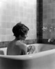 1920s-1930s Woman Sitting In Bath Tub Poster Print By Vintage Collection - Item # VARPPI177263