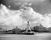 1930s-1940s Skyline Of Monument To Maxima Gomez In Center Dramatic Sky Clouds Havana Cuba Print By Vintage Collection - Item # VARPPI178741
