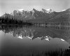 1960s Lake In Rocky Mountains Canada North Of Lake Louise On Jasper Highway Poster Print By Vintage Collection - Item # VARPPI178809