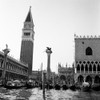 1920s-1930s Venice Italy Piazza San Marco Campanile Tower And Winged Lion Statue Print By Vintage Collection - Item # VARPPI179065