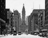1950s Downtown Philadelphia Pa Usa Looking South Down North Broad Street At City Hall Print By Vintage Collection - Item # PPI195466LARGE